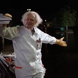 Doc Brown Outfit